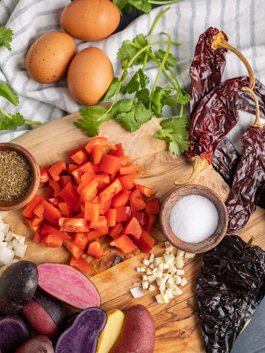 mexican baked eggs ingredients
