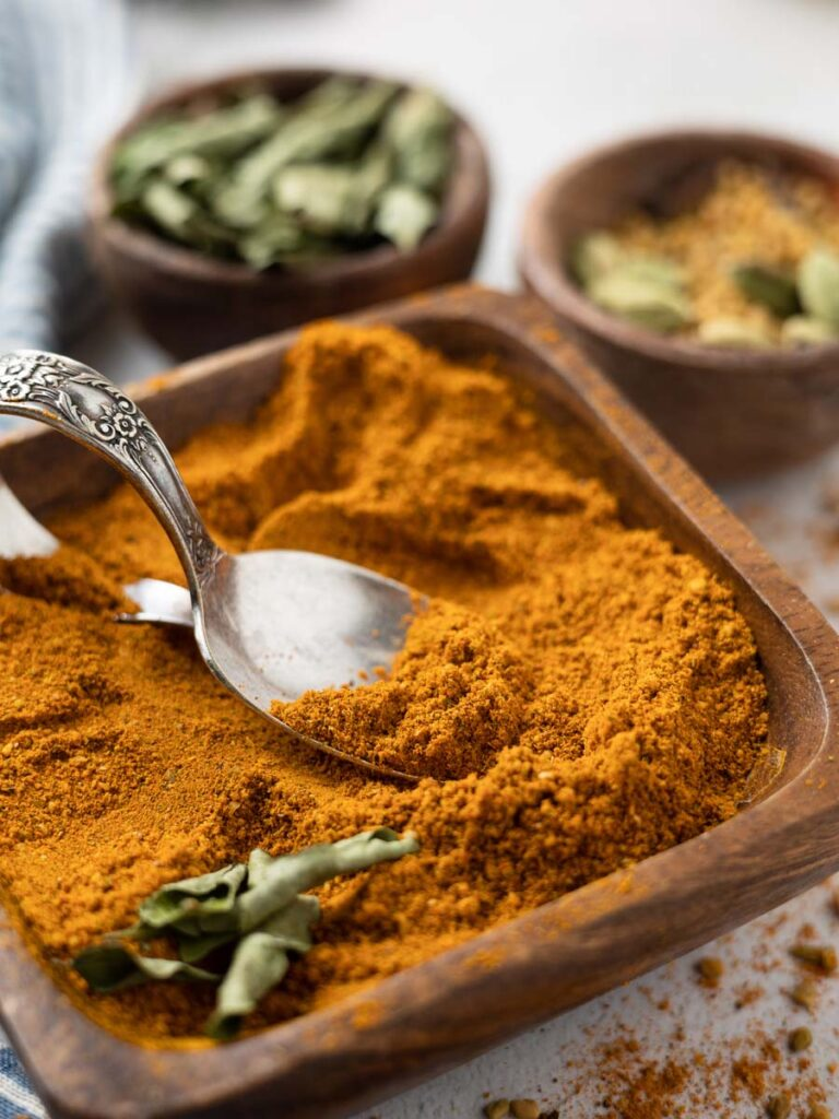 vadouvan curry powder in a dish