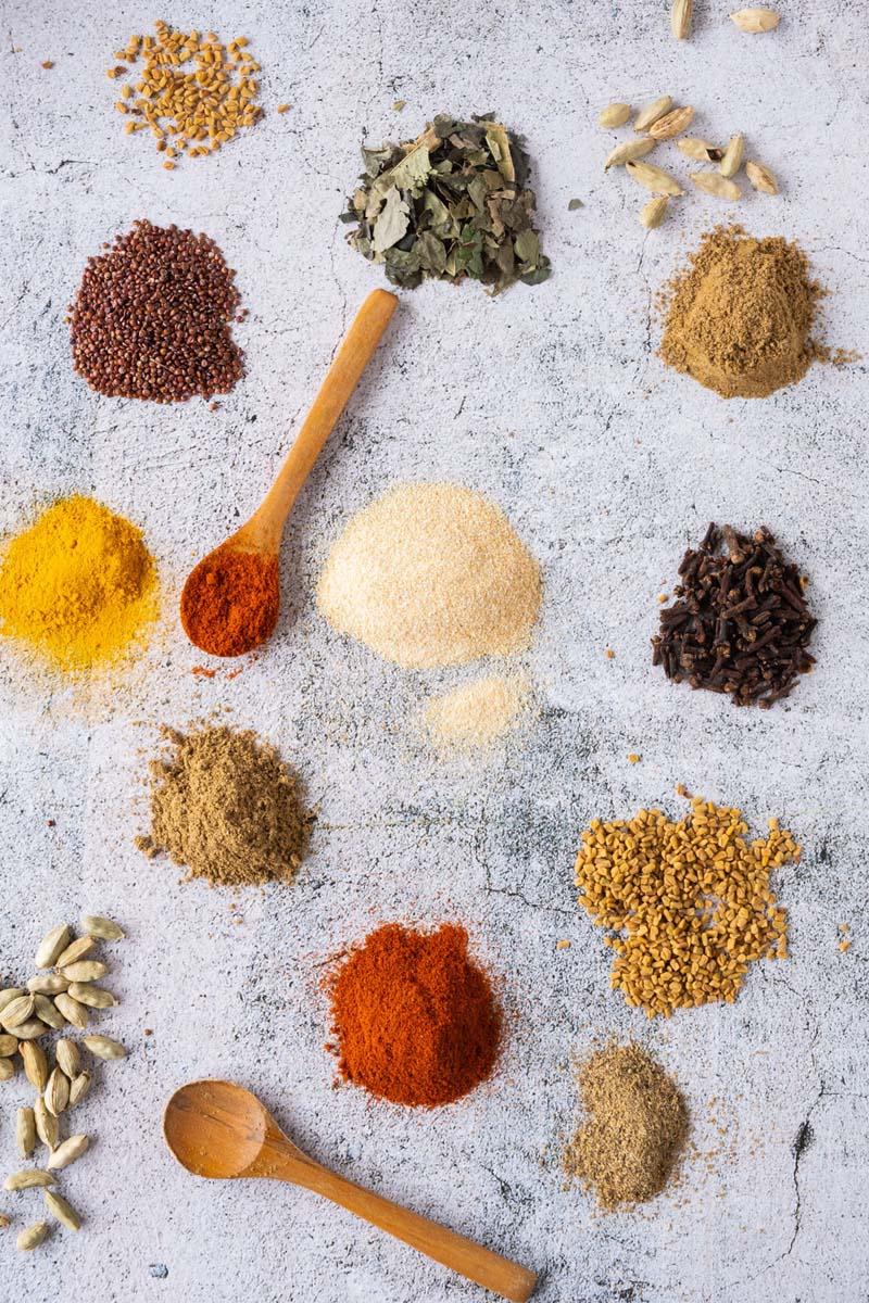Vadouvan Spices Ground.