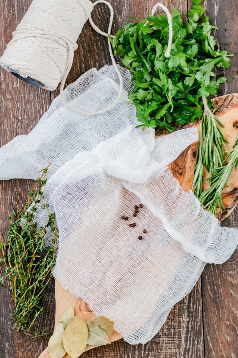 bouquet garni ingredients