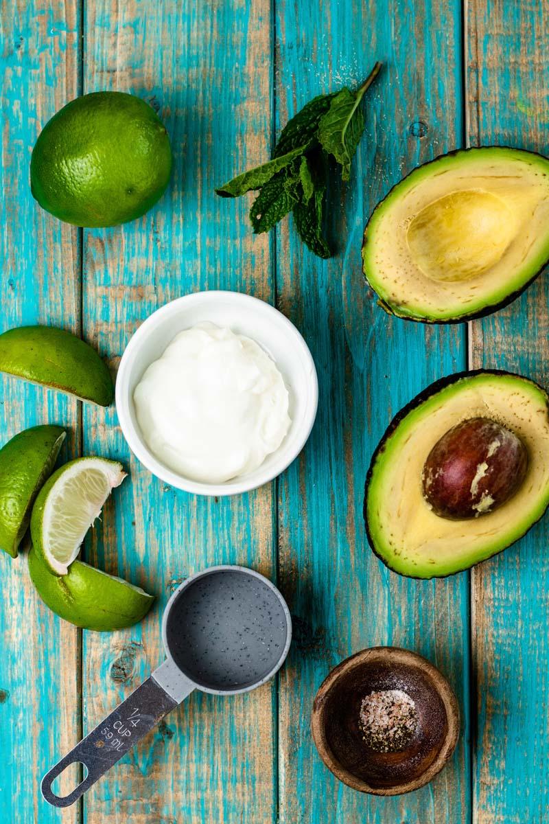 avocado yogurt sauce ingredients