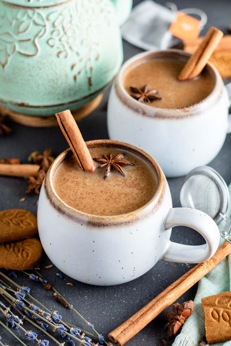 chai tea in tea cups