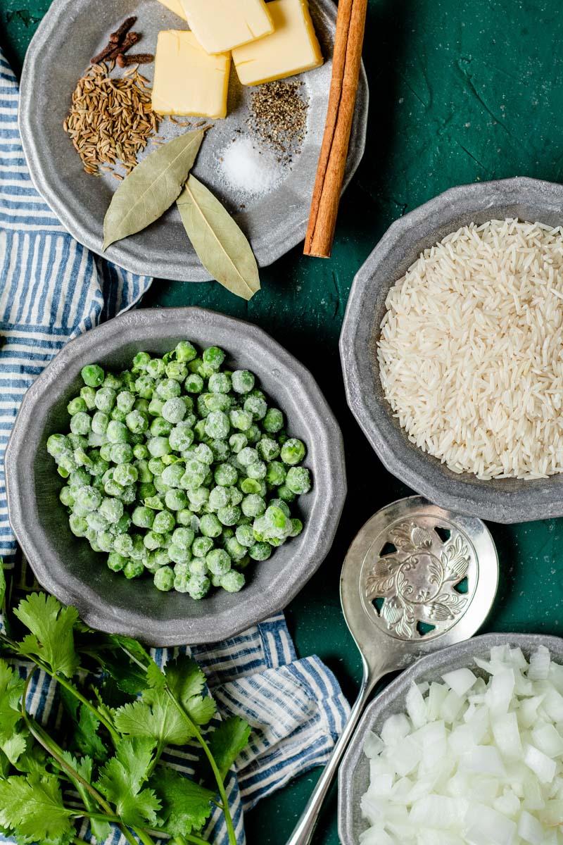 jeera rice ingredients