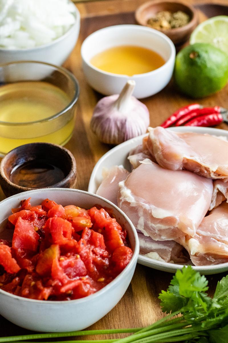 tinga de pollo ingredients