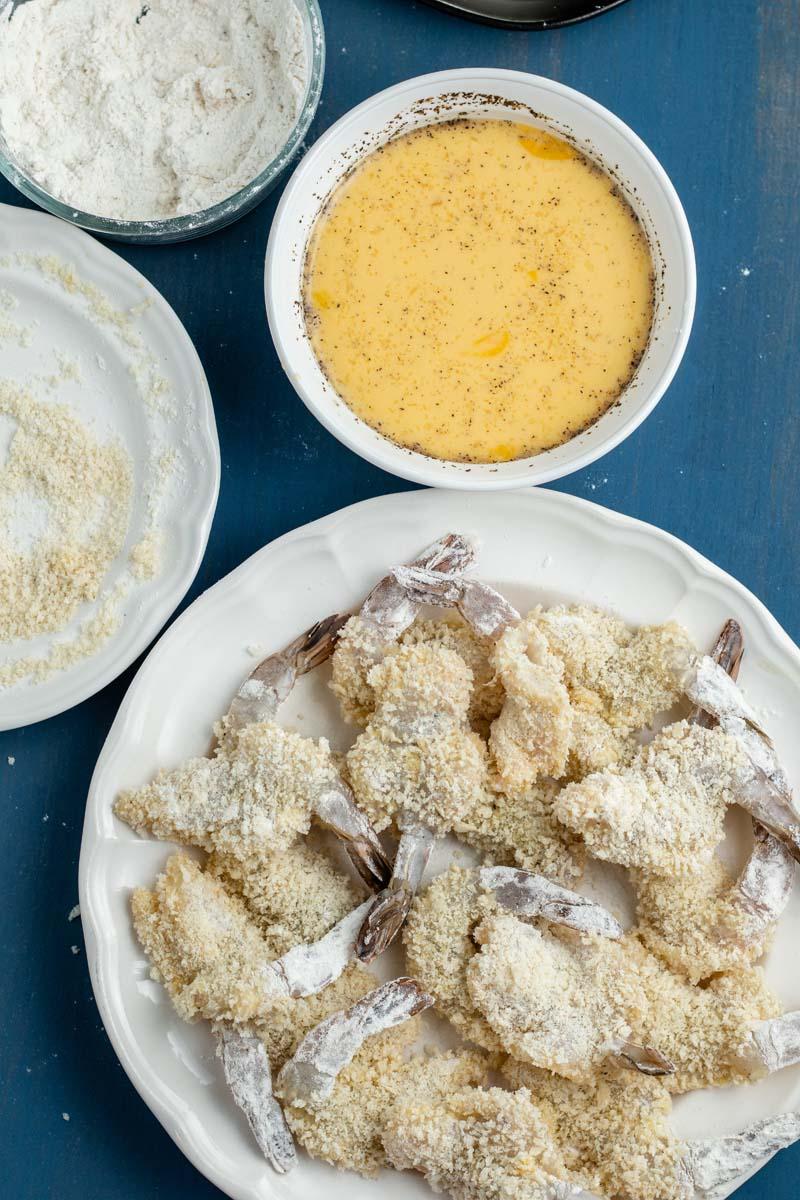 fried shrimp ingredients
