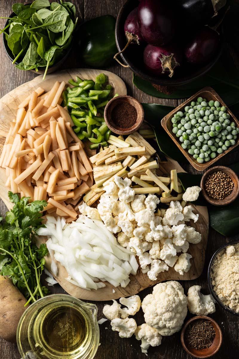 vegetable pakora ingredients